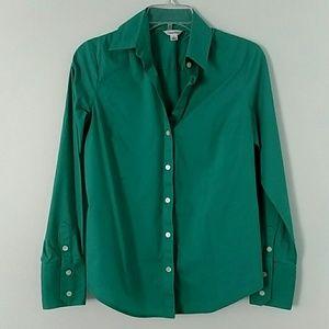 Teal Calvin Klein Dress Shirt